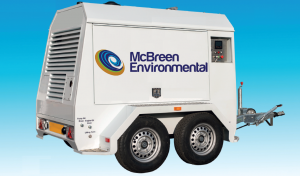State of the Art Hydroblasting equipment at McBreen Environmental